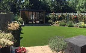 artificial grass garden ideas to