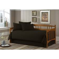 southern textiles paramount solid black twin 5 pc daybed ensemble