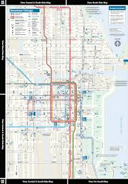 loop map cta online system map downtown area d dhtm