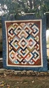 Majestic Mountain Quilt Pattern from Missouri Star Quilt Co ... & Diamond Double pattern, kit purchased from craftsy. Adamdwight.com
