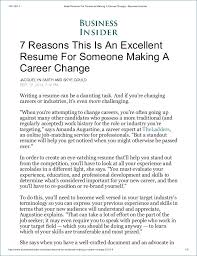 Resume For Career Change Resume Layout Com