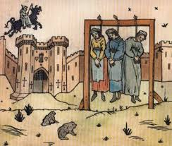 Victims of Tudor England witch hunts? | Witch history, Witch art, Medieval  art