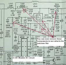 analyze electronic equipment b plus voltage circuit