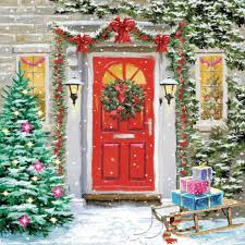 christmas front door clipart. Delighful Front Clipart Door Xmas Inside Christmas Front Door Clipart R