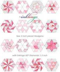 Step 1: Make Your 2-in Hexagon Template | Template, Patchwork and ... & Inklingo: Hexagons with Linda Franz | Quilty Pleasures Blog. Neat idea -  print quilt Adamdwight.com