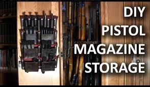 Stickman Magazine Holder Making A Pistol Magazine Storage Rack Secret hiding places 28