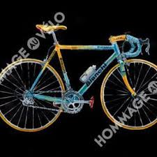 hommage au velo cycling art the perfect present for a cyclist