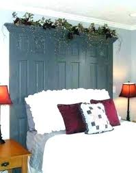 french door headboard antique door headboard antique door headboard year old door made into a headboard