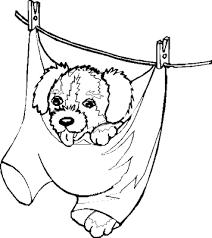 Cute Puppy Kleurplaat Tropicalweather