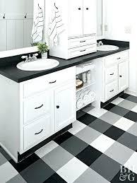 black and white vinyl floor tiles black and white vinyl flooring double sink buffalo check vinyl