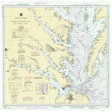 Upper Chesapeake Bay Chart Chesapeake Bay Southern Part 1990 Old Map Nautical Chart Ac Harbors 78 Chesapeake Bay