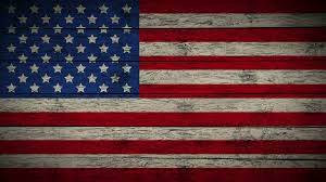 painting flag of usa on old wood boards with four diffe ways animation of wooden grunge american flag loop abstract flag background for your text or