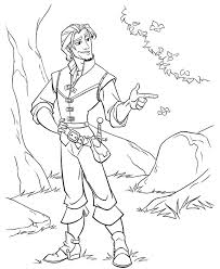 Small Picture Kids Under 7 Tangled Rapunzel Coloring Pages