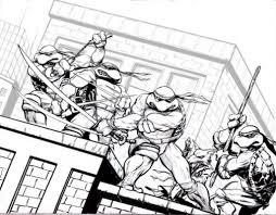 Download Coloring Pages. Ninja Turtles Coloring Page: Ninja ...