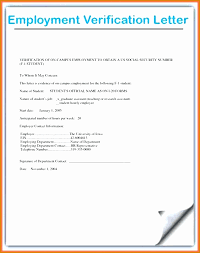 8 Example Of Employment Verification Letter Besttemplates