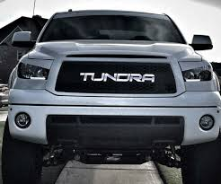 2008 Tundra Grill With Light Bar 2010 2013 Tundra Grille Insert With Color Matched