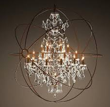 restoration hardware orb chandelier lighting restoration hardware vintage pendant lamp iron