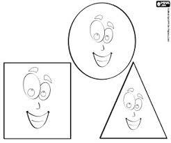Disegni Di Forme Geometriche Da Colorare E Stampare Con Figure
