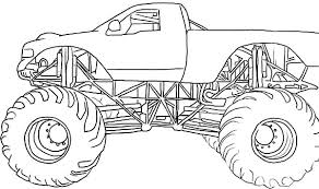 Small Picture Monster Jam Coloring Pages Coloring Pages For Kids And Printable
