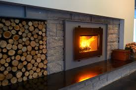 3055 insert in a new england modern home stove fireplacewood