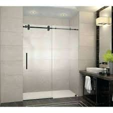 frameless bypass shower door home and furniture miraculous sliding glass shower doors at showers the home