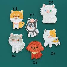 Super <b>Cute</b> Pet <b>Dog Patch</b> Embroidery <b>Iron</b> on Cool Appliques ...