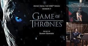 Classic Fm Chart Game Of Thrones Season 7 Is At No 1 For