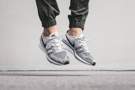 nike flyknit trainer. pale grey will be a new colorway appearing on the return of nike flyknit trainer this month. celebrating its 5th anniversary, stylish shoe features s