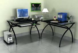 office desk with glass top. Glass Desk For Sale Workstation Metal Office Black And . With Top