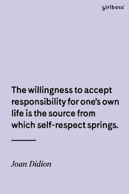 girlboss quote self respect always as told by joan didion  girlboss quote self respect always as told by joan didion