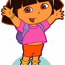 hello clipart dora pencil and in color hello clipart dora