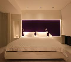 bed lighting ideas. bedroom illuminated lighting have good beds between two on nightstands behind yellow wall in front bench and floor bed ideas