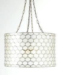 capiz pendant chandelier serena capiz drum pendant chandelier