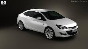 360 view of Opel Astra J sedan 2012 3D model - Hum3D store