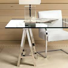 table desk with glass top in cappuccino finish main image ikea workstationglass protector uk cover