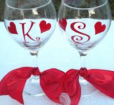 valentine gifts diy wine glass
