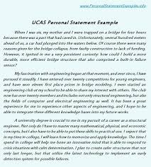 ucas personal statement our ucas personal statement template example