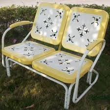 retro metal outdoor furniture. Unique Furniture Retro Double Glider 235 Inside Metal Outdoor Furniture I