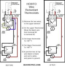 how to wire water heater thermostat readingrat net 5 Wire Thermostat Wiring how to wire water heater thermostat 5 wire thermostat wiring diagram
