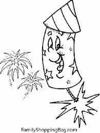 Small Picture Firework Color Page 2 4th of July Coloring Pages Free
