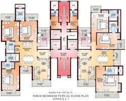 Apartments Floor Plans Design Incredible Apartment Unit Typical Plan 3