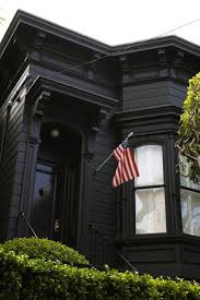 House With Black Trim Black Houses The Pros And Cons Of A Dark Painted Facade Gardenista