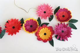 Paper Flower Craft Ideas Flower Craft Ideas Wonderful Spring Summer Mothers Day