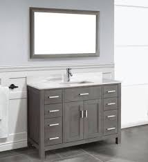 Art Kelia 48 inch Bathroom Vanity French Gray Finish