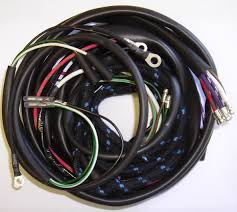 body wiring harness jaguar mk2 lh body wiring harness jaguar mk2