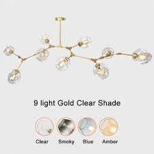 hot modern crystal chandelier transpa glass ball lamp polished chrome stainless steel base led living room lamp malaysia senarai harga 2019
