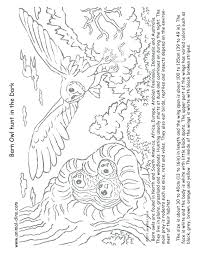 Coloring Pictures Of Barn Owls Carriembeckerme