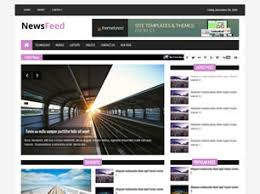 Newspaper Html Template Free News Website Templates 44 Free Css