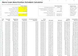 Free Downloadable Mortgage Calculator Amortization Formulas Excel Schedule Formula With Extra Payments