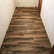imposing decoration wood plank tile flooring porcelain wood look tile floor hometalk